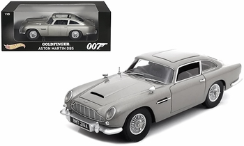Aston Martin DB5, James Bond: Goldfinger 1:18 Diecast - Hot Wheels - click to enlarge