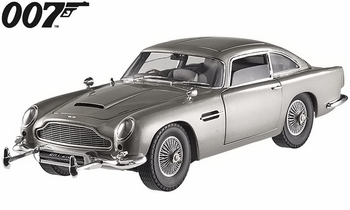 Aston Martin DB5, James Bond: Goldfinger 1:18 Diecast - Hot Wheels Elite - click to enlarge