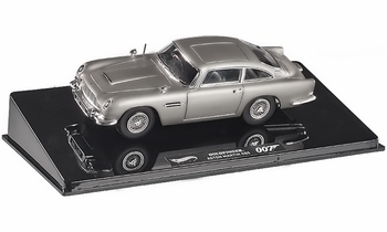 Aston Martin DB5, James Bond: Goldfinger 1:43 Diecast - Hot Wheels Elite - click to enlarge