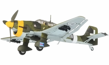 Ju 87 Stuka Model, Italian Air Force, 208a Squadron - Corgi AA32516 - click to enlarge