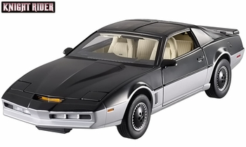 Knight Rider K.A.R.R. 1:18 Diecast Model - Hot Wheels Elite - click to enlarge