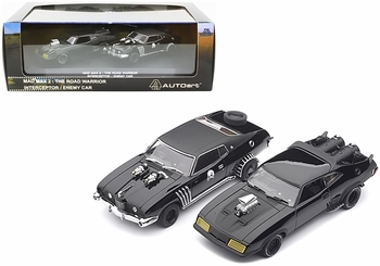 Mad Max 2: The Road Warrior Interceptor & Enemy Car Model Set - Autoart - click to enlarge
