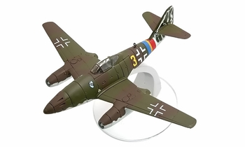 Me 262 Model, Luftwaffe, JG 7, Hermann Buchner - Corgi WB99629 - click to enlarge