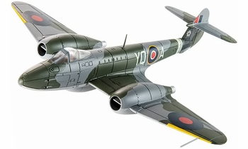 Meteor F.3 Model, RAF, No. 616 Squadron, Lubeck - Corgi AA27401 - click to enlarge
