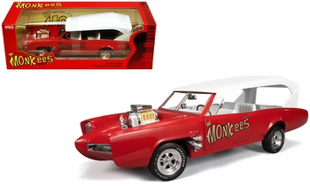 The Monkees Monkeemobile 1:18 Diecast Model - Auto World - click to enlarge