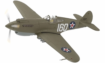P-40B Warhawk Model, USAAF, 47th PS, George Welch - Corgi AA28101 - click to enlarge