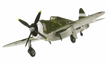 "P-47D Thunderbolt Model, USAAF, ""Boche Buster"" - Corgi HC33810 - click to enlarge"