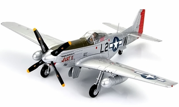 "P-51D Mustang Model, ""SCAT VI"", Robin Olds - Hobby Master HA7724 - click to enlarge"