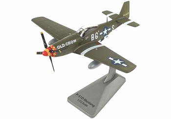 """P-51D Mustang Model, USAAF, """"Old Crow"""" - Air Force 1 0149 - click to enlarge"""