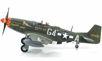 "P-51D Mustang Model, USAAF, ""Passion Wagon"" - Hobby Master HA7727 - click to enlarge"