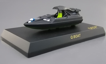 Q Boat Model, James Bond: The World Is Not Enough - Kyosho - click to enlarge