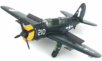 SB2C-4E Helldiver Model, U.S. Navy, VB-84 - Hobby Master HA2212 - click to enlarge