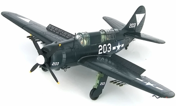 SB2C-4E Helldiver Model, U.S. Navy, VB-87 - Hobby Master HA2213 - click to enlarge