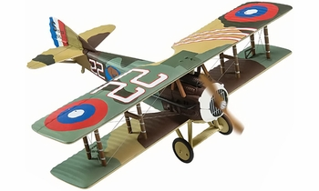 SPAD XIII Model, 95th Aero Sqn, Lansing Holden Jr. - Corgi AA37906 - click to enlarge
