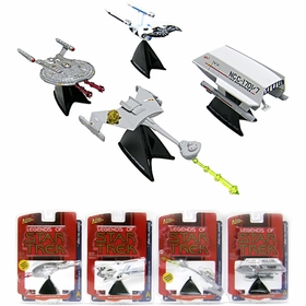 Star Trek, Series Five: Sacrifice, Set of 4 Models - Johnny Lightning - click to enlarge