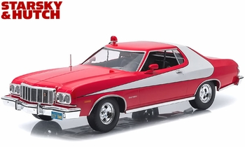 Starsky & Hutch 1976 Ford Gran Torino 1:18 Diecast Model - GreenLight - click to enlarge