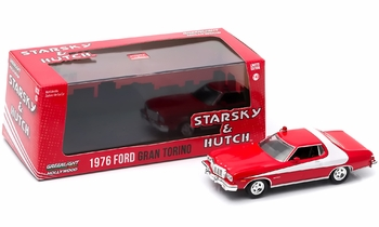 Starsky & Hutch 1976 Ford Gran Torino 1:43 Diecast Model - GreenLight - click to enlarge