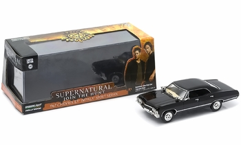 Supernatural 1967 Chevy Impala 1:43 Diecast Model - GreenLight - click to enlarge