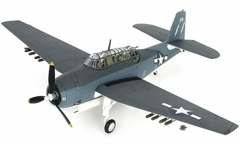 TBM-3 Avenger Model, U.S. Navy, VC-88 - Hobby Master HA1219 - click to enlarge
