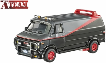 The A-Team 1983 GMC Van 1:50 Model - Hot Wheels Elite One - click to enlarge