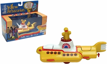 The Beatles Yellow Submarine Diecast Model - Factory Entertainment - click to enlarge