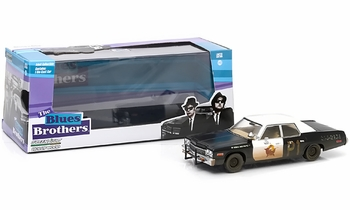 The Blues Brothers Bluesmobile 1:43 Diecast Model - GreenLight - click to enlarge