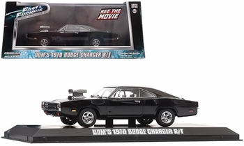 Fast and the Furious (2001) 1970 Charger 1:43 Diecast Model - GreenLight - click to enlarge