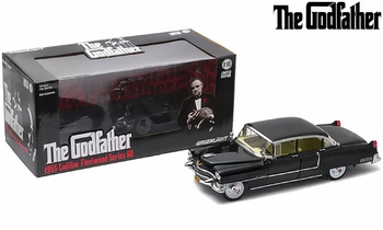 The Godfather 1955 Cadillac Fleetwood 1:18 Diecast Model - GreenLight - click to enlarge