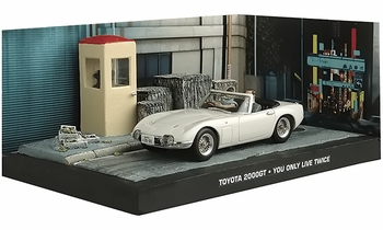 Toyota 2000GT Model, James Bond: You Only Live Twice - Eaglemoss - click to enlarge
