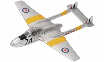 Vampire T.11 Model, North Weald Airfield - Corgi AA37305 - click to enlarge