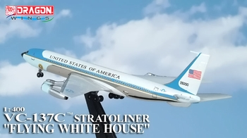 "VC-137C (Boeing 707) ""Air Force One"" Model - Dragon Wings 55660 - click to enlarge"