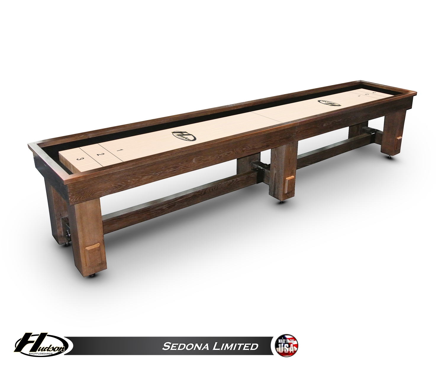 14' Hudson Sedona Limited Shuffleboard Table