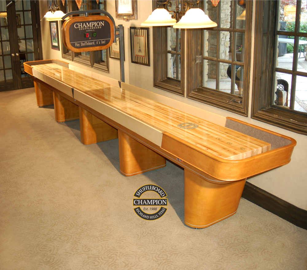 Delicieux 18u0027 Champion Capri Shuffleboard Table