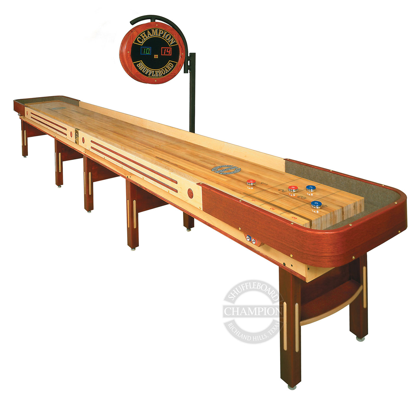 22 Grand Champion Limited Edition Shuffleboard Table