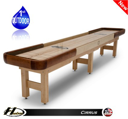 14' Hudson Cirrus Shuffleboard Table