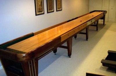 Rock Ola Antique Shuffleboard Tables For Sale At The Shuffleboard Federation