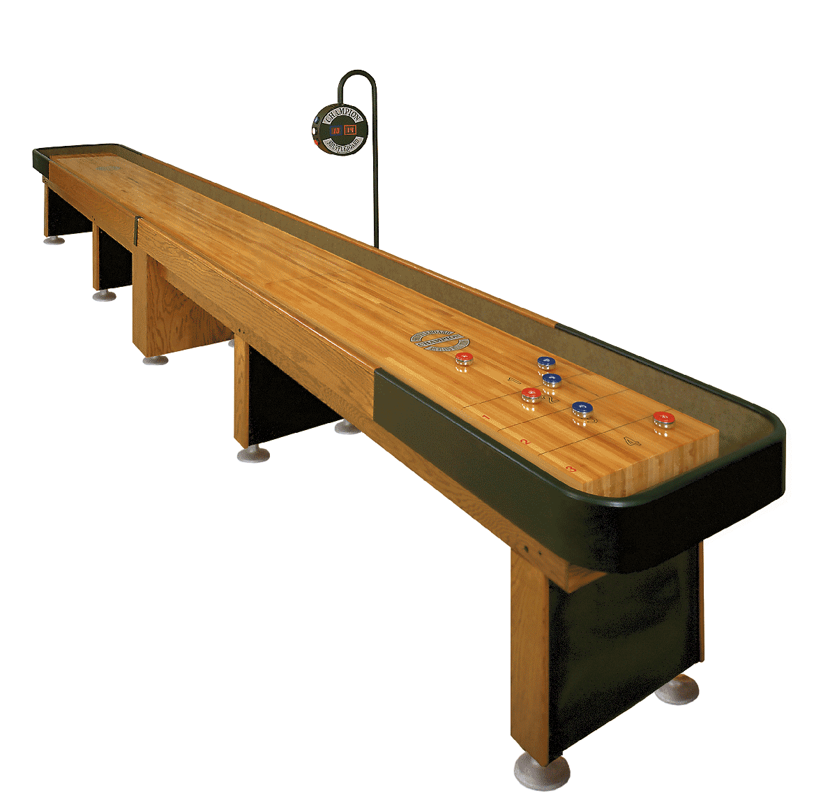 Delicieux The Shuffleboard Federation