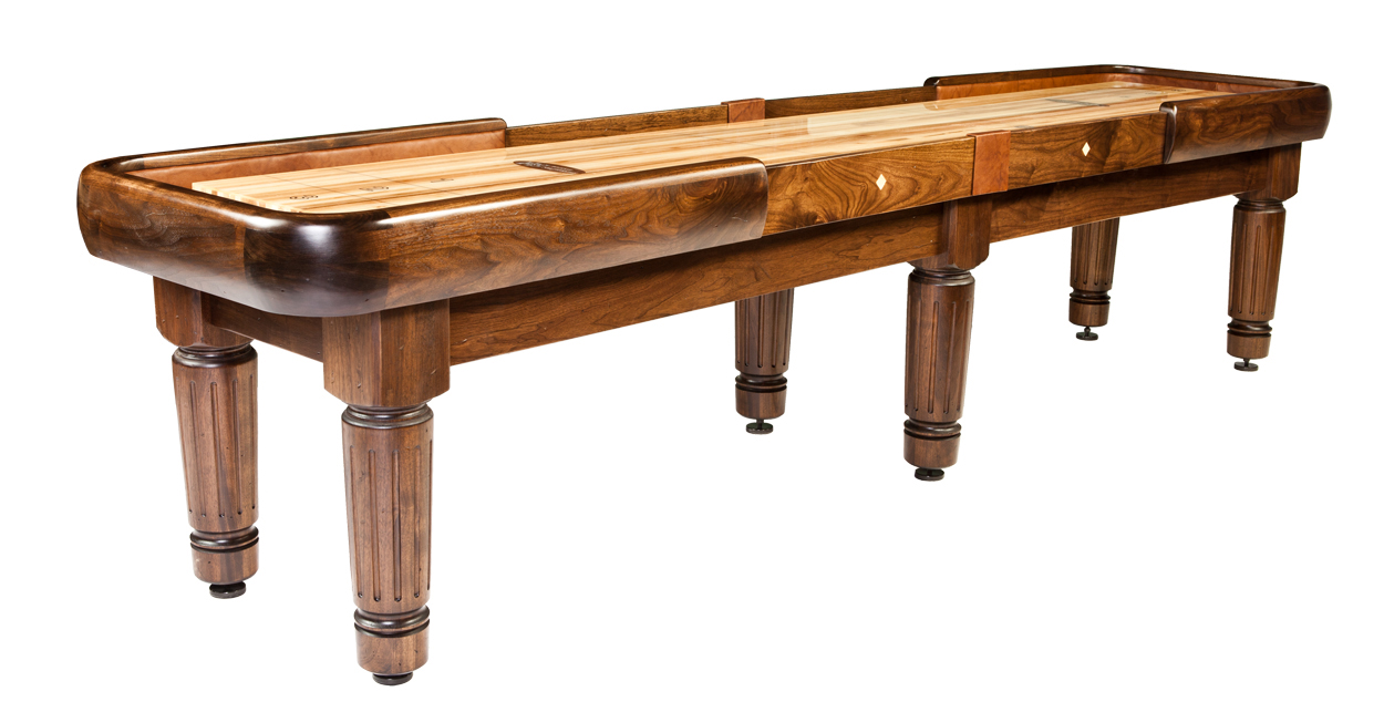 Exceptional Heirloom Manchester Shuffleboard Table
