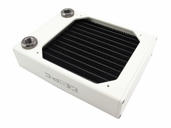 AX120 Single Fan Radiator (White) V2 by XSPC