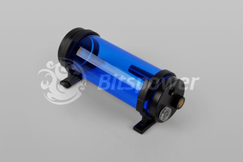 Bitspower Water Tank Z-Multi 150 ICE Blue Body Black POM Cap (BP-WTZM150P-IBLBK)