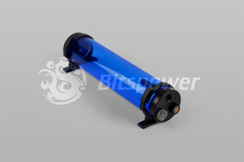Bitspower Water Tank Z-Multi 250 ICE Blue Body Black POM Cap (BP-WTZM250P-IBLBK)