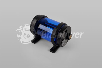 Bitspower Water Tank Z-Multi 80 ICE Blue Body Black POM Cap (BP-WTZM80P-IBLBK)
