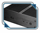 Akasa Newton Passive Fanless case for Intel NUC System (AK-ITX07-BK)