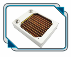 XSPC AX120 Single Fan Radiator (Silver)