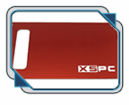 XSPC Reservoir V4 Faceplate Pack (Red)