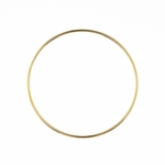Bracelet gold plated stainless steel thin bangle