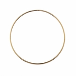 Bracelet rose gold plated stainless steel thin bangle