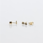 Jewelry Components gold 2 pair 4mm over 5mm pearl cups
