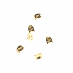 Jewelry Components Gold Whisper Clasps - 3 Pair