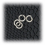 Jewelry Components Stainless Steel Links - 2 Pair